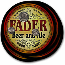Fader Beer and Ale Coasters - 4pak - Great Gift
