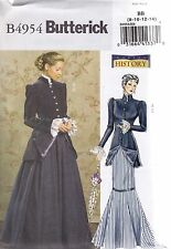 Butterick Sewing Pattern Misses' Early 20th Century Costume Sizes 8 - 22 B4954