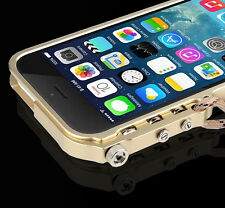 """For iPhone 6 4.7""""/Plus 5.5"""" Case Cover Aluminum Metal Hard Frame Bumper Cleave"""