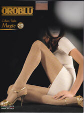 Oroblu Magie 20, shiny tighs, 30 pack, sheer to the waist, flat seams