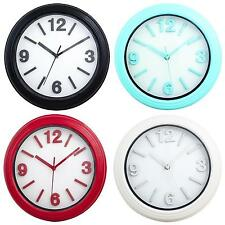 MODERN WALL CLOCK HOME OFFICE QUARTZ KITCHEN BATHROOM OFFICE DECOR DINING ROOM