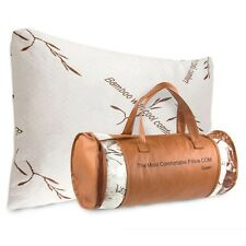 Authentic The Most Comfortable Bamboo Pillow By TheMostComfortablePillow.com