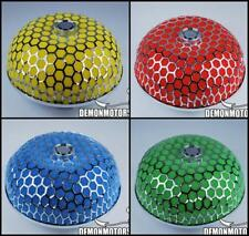 """Performance Dome Mushroom Air Filter For 76mm 3"""" Inch Induction Kit, PICK COLOUR"""