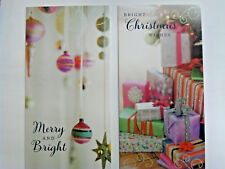 12 christmas cards. 2 designs a pack  3 pack designs to choose from  great value