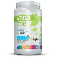 Vega One ALL-IN-ONE NUTRITIONAL SHAKE 30oz Protein Probiotics Fiber Greens