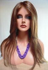 ZAHRA READY TO WEAR LACE FRONT MONOTOP WIG *4/27/30 NEW IN BOX