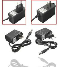 AC 100-240V to DC 5V 6V 7.5V 9V 1A 2A Switch Power Supply Adapter Charger +Cable