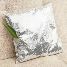 Sequins Decoration Cushion Comfortable Pillow Covers Cases Throw Sofa