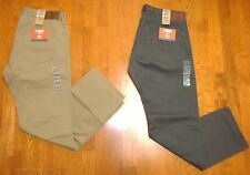 DOCKERS MENS 5 POCKET KHAKI STRAIGHT FIT PANTS 100% COTTON NWT