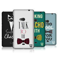 HEAD CASE BOYS AND BOW TIES SNAP-ON BACK COVER FOR NOKIA LUMIA 625