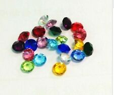 4mm Birthstone Crystal Floating Living Memory Glass Lockets Accent Charms