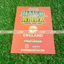 2010 WORLD CUP ENGLAND MAN OF THE MATCH STAR PLAYER CARD 10