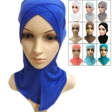 Muslim Cotton Full Cover Inner Hijab Caps Islamic Underscarf Colors Islamic Hats