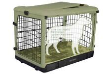 """Pet Gear 42"""" Other Door Steel Crate Dog/Cat Kennel with Travel Bag and Plush Pad"""