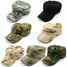 Camo Cap Adjustable Military Hunting Fishing Hat Army Baseball Sport Camouflage