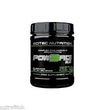 SCITEC NUTRITION Pow3rd! 2.0 Powered Complex Pre-Workout Creatine FREE SHAKER!