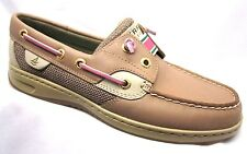 Sperry Top-Sider Rainbowfish Laceless Boat Shoe Womens Linen