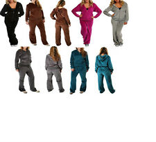 NWT WOMEN'S TRUE PLUS SIZE TRACK SUIT 1X 2X 3X  PANTS & HOODIE TRACKSUIT COLORS