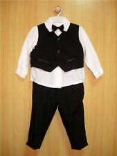 BABY BOY OUTFIT, Black Special Occasion Suit, Wedding,Christening, Age 0-3 Years