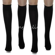 2 Sizes Unisex Black Support Stocking Practical Anti-Fatigue Compression Socks