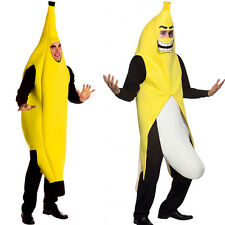 Carnival Party Funny Banana Man Adult Costume Perform Cosplay Festival 2 Types