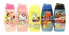 DISNEY+NICKELODEON 2.5 oz TRAVEL 3in1 Body Wash+Shampoo+Conditioner *YOU CHOOSE*