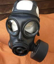 BRITISH ARMY S10 GAS MASK S10 RESPIRATOR WITH ORIGINAL SEALED FILTER. ALL SIZES.