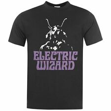 Official Mens Band Tee Electric Wizard T Shirt Short Sleeve Music Printed Top