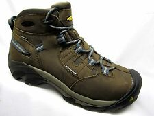 Keen Detroit Mid Waterproof Steel Toe Boot Mens Slate Black