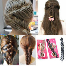 Women Fashion Hair Styling Clip Stick Bun Maker Braid Tool Hair Accessories HOT