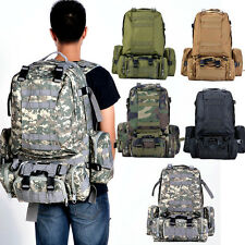 Outdoor Military Camping hiking Assault Tactical Large Rucksack Backpack Bag