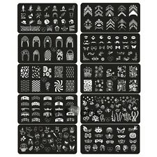 Trendy Nice Steel plate Nail Art Image Stamp Stamping Plates Manicure Template