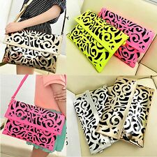 Hot Chic Hollow Women Girls Envelope Clutch Purse Handbag Shoulder Messenger Bag