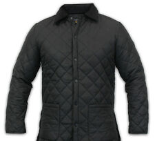 BNWT MEN'S TRENDY DIAMOND QUILTED FASHION JACKET SIZES S - 5XL GREEN OR BLACK