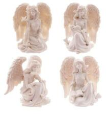 NEW ELEGANT WHITE ANGEL FIGURE ORNAMENT ANG130 SINGLE OR SET OF 4