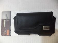 Reiko Leather Pouch Protective Carrying Case Samsung Galaxy 3,4,5,6,7,7 Edge