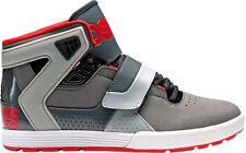 OSIRIS SHOES 2013 L2 Hi Tops Skate Lifestyle CHARCOAL/BLACK/RED