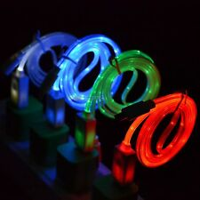 Visible LED Light Micro USB Charging Cable Cord for Samsung Galaxy Note 4 N910