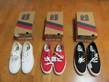 PRO-KEDS WOMENS ROYAL CVO RED BLACK WHITE MED TENNIS SHOES SNEAKERS NWB
