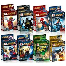 Super Heroes-D1 The Avengers Batman Superman Mini Figures Series Building Toys
