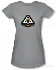 Juniors: Eureka - Astraeus Mission Patch T-Shirt Silver