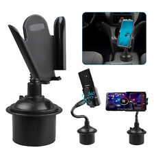 Dual USB Cigarette Lighter Socket Car Charger Mount Holder for iPhone 6 5S/5/4