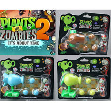 1 Pcs Plants vs. Zombies 2 Figure Peashooter Coconut Cannon Snow Pea Figures