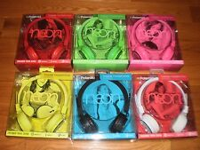 TAKE BOTH FOR $32, POLAROID NEON FOLDABLE HEADPHONES PHP8455 ONLY RED or BLACK