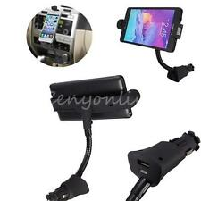 Universal Car Cigarette Lighter Mount Holder Micro USB Charger for Android Phone