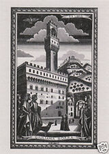 EX LIBRIS BOOKPLATE DI GIULIANA BORRA n 1