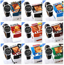 Tokyo Ghoul Sword Art Online watch Calendar Waterproof watch +box  9 styles