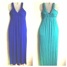 Design 365 Women's Maxi Dress Soft and Sexy Braided Straps FREE SHIPPING M15