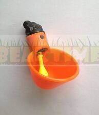 Brand New Chicken Waterer Cup Drinker poultry PVC water bracket automatic feeder