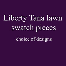 SALE!! Liberty Tana lawn swatch pieces - assorted designs - ideal patchwork